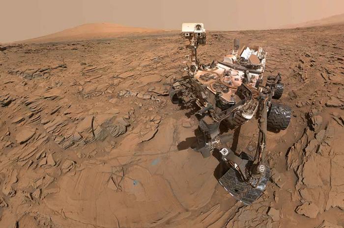 Mars podle NASA
