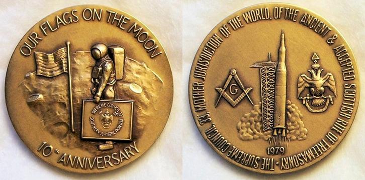 Zednářská medaile