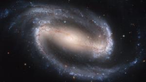 Spirální galaxie NGC 1300