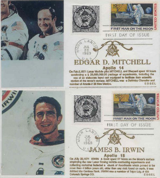 Zednáři v NASA