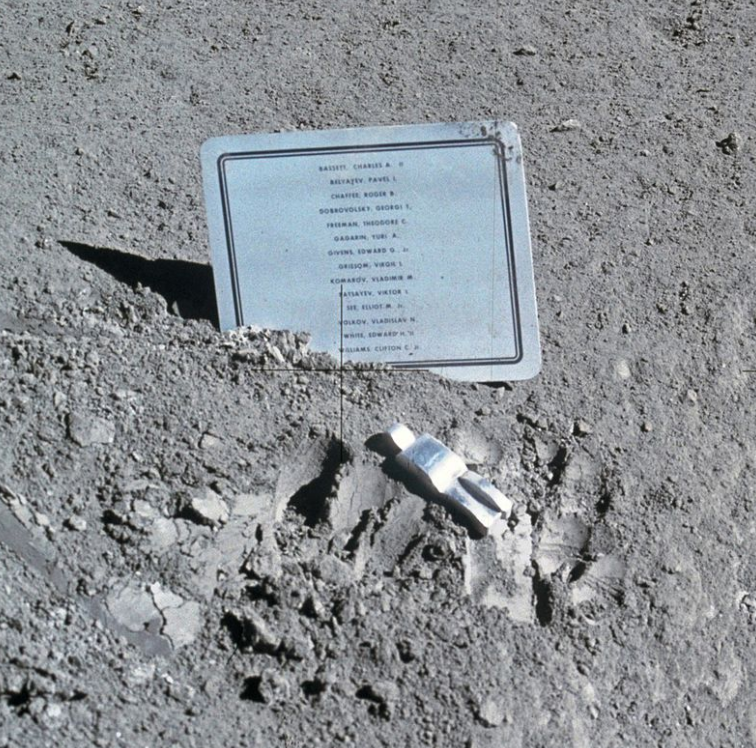 Apollo 15 - pamětní deska