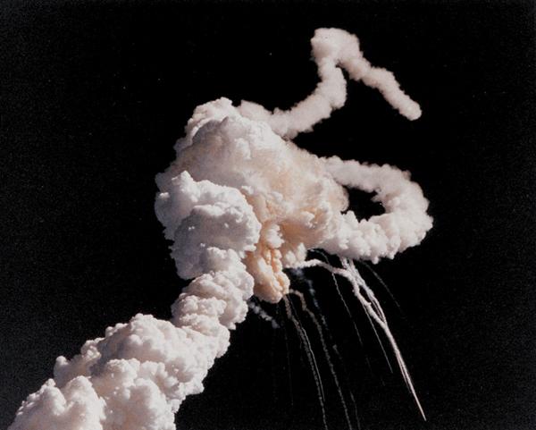 Exploze raketoplánu Challenger