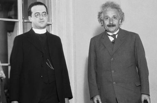 Georges Lemaître a Albert Einstein